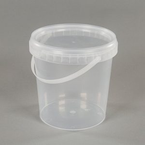 1 litre plastic food container with lid