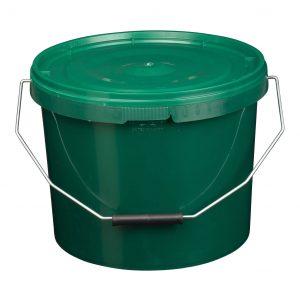 10 litre green bucket