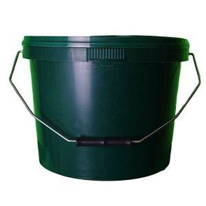 10 Litre Green Plastic Buckets
