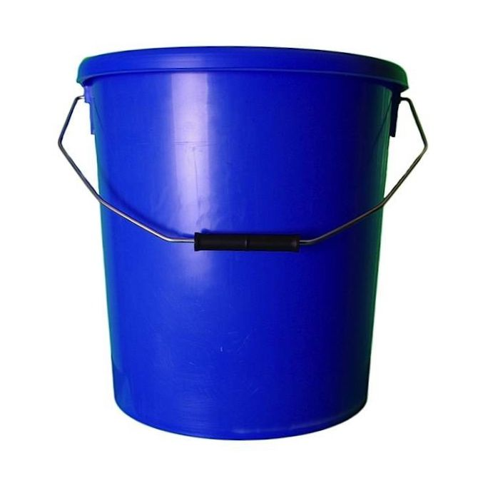 16L Blue Plastic Buckets With Lid