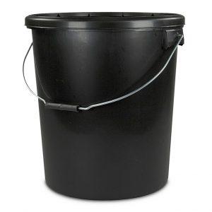 twenty litre black tamper evident bucket
