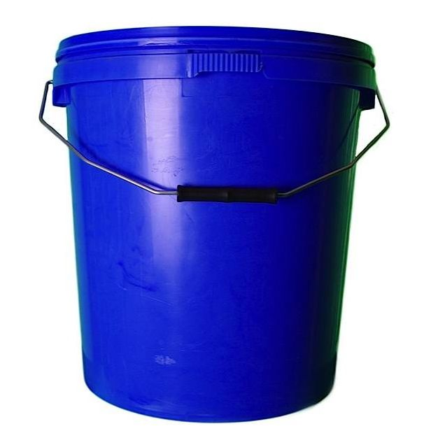 20L Blue Plastic Buckets With Lid