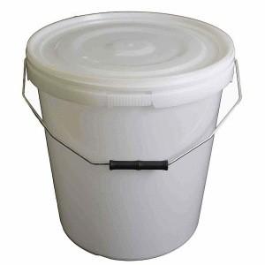 20 Litre Natural Plastic Buckets