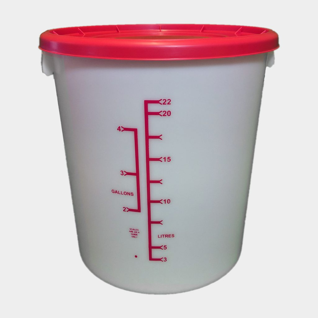 25L Homebrew Buckets With Lid
