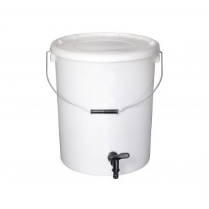 25l Natural Bucket with tap and lid