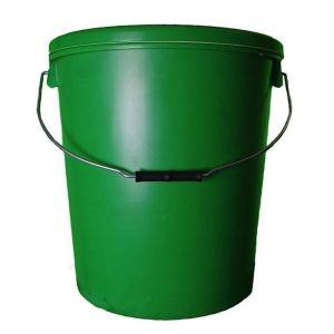 25 Litre Green Plastic Buckets
