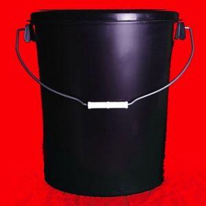 30 Litre Black Plastic Buckets