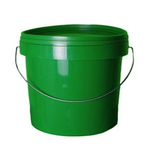 5 Litre Green Plastic Bucket