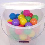 Translucent Plastic Buckets