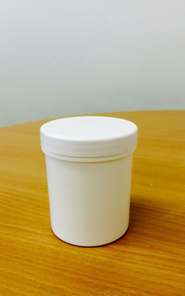 250ml White Screw Top Jar & 70mm Cap