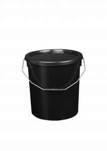 16L Black Fishing Bucket
