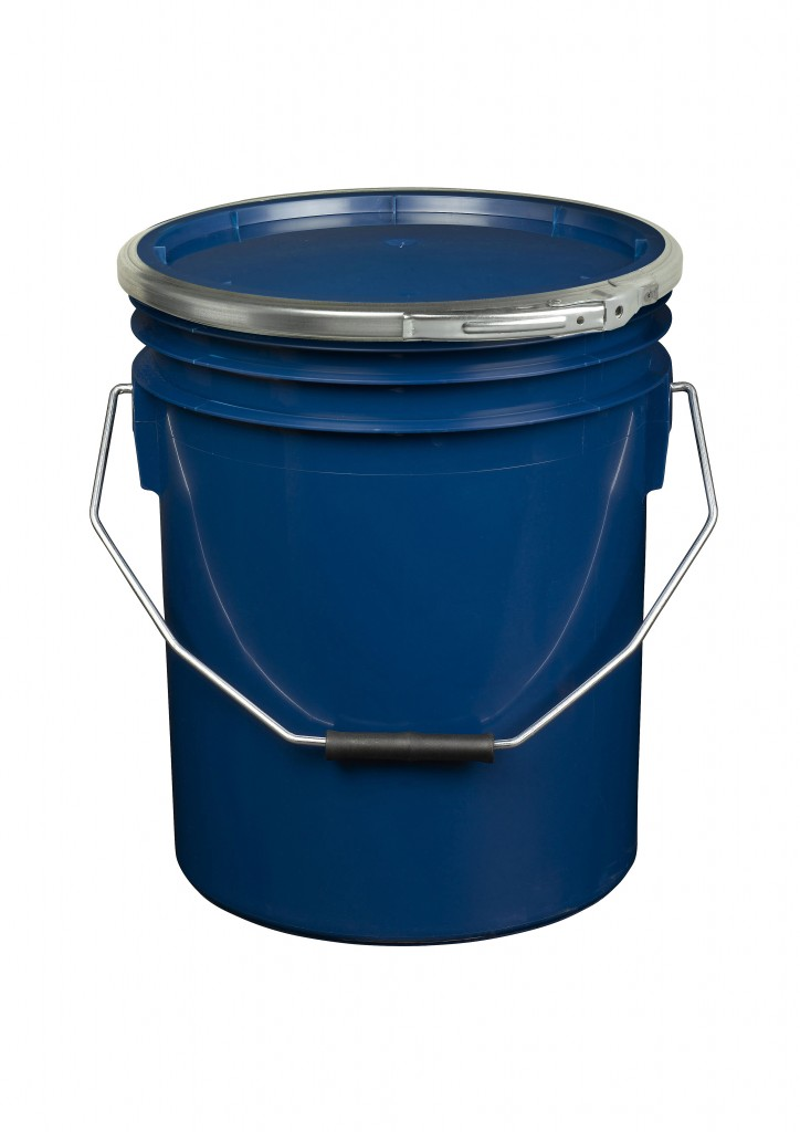 Blue 16L Paint and Resin Pail (with metal fastener)