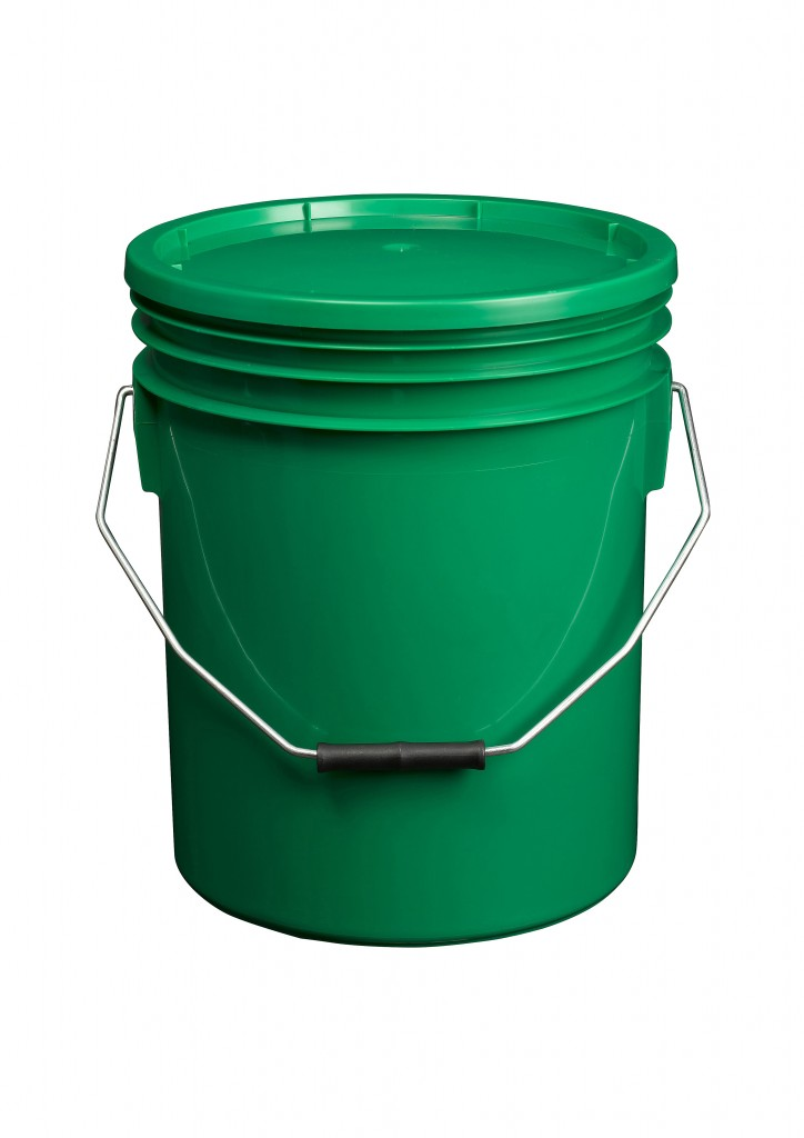 Green 16L Paint and Resin Pail