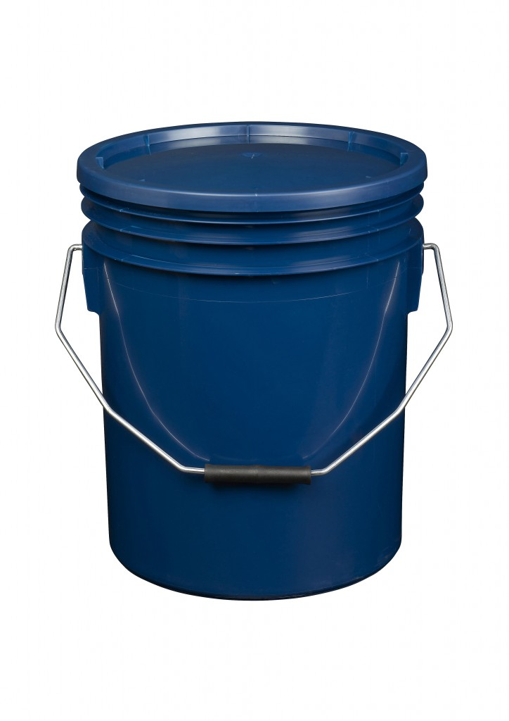 Blue 16L Paint and Resin Pail