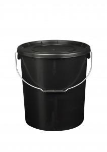 20L Black Fishing Bucket