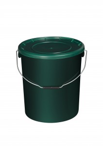 25L Green Fishing Bucket