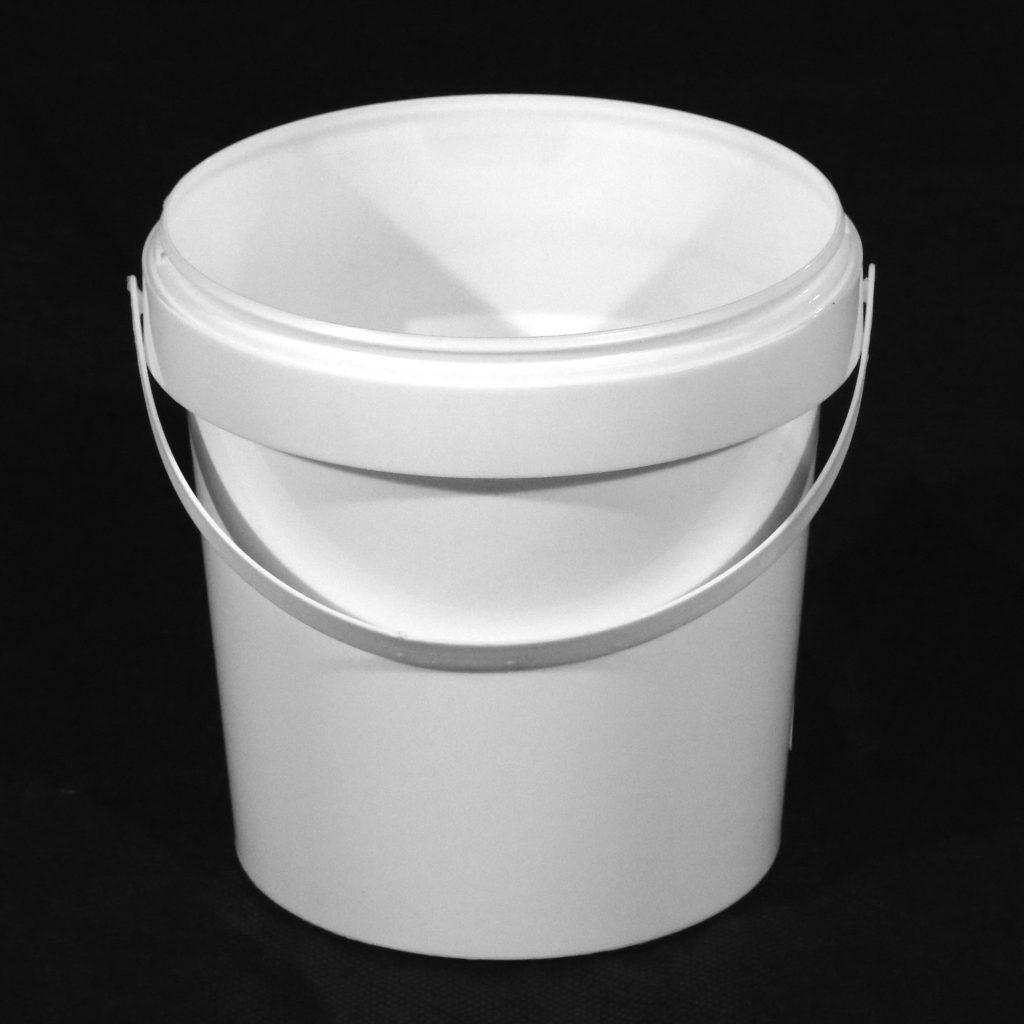 1 Litre White Paint Kettle (no lid)