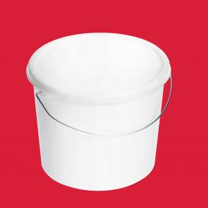 2.5 litre white bucket