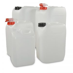jerry cans with caps or taps