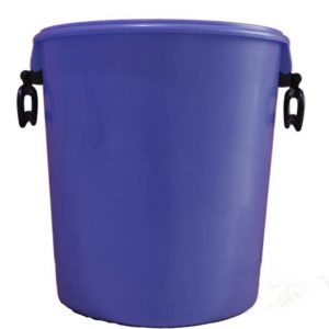25 litre blue container with handles