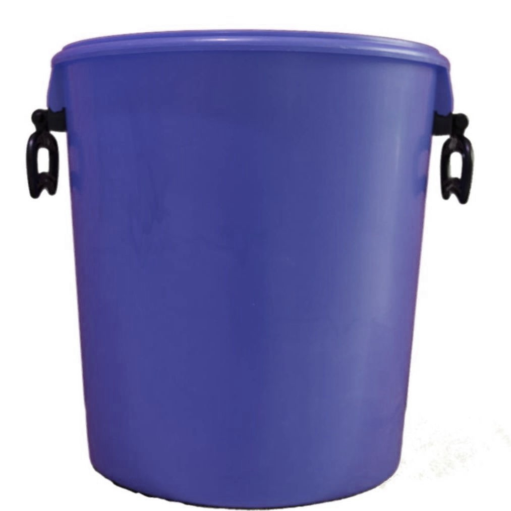 25L Blue Bucket With Two Handles And Lid
