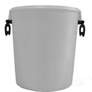 25 litre white container with handles