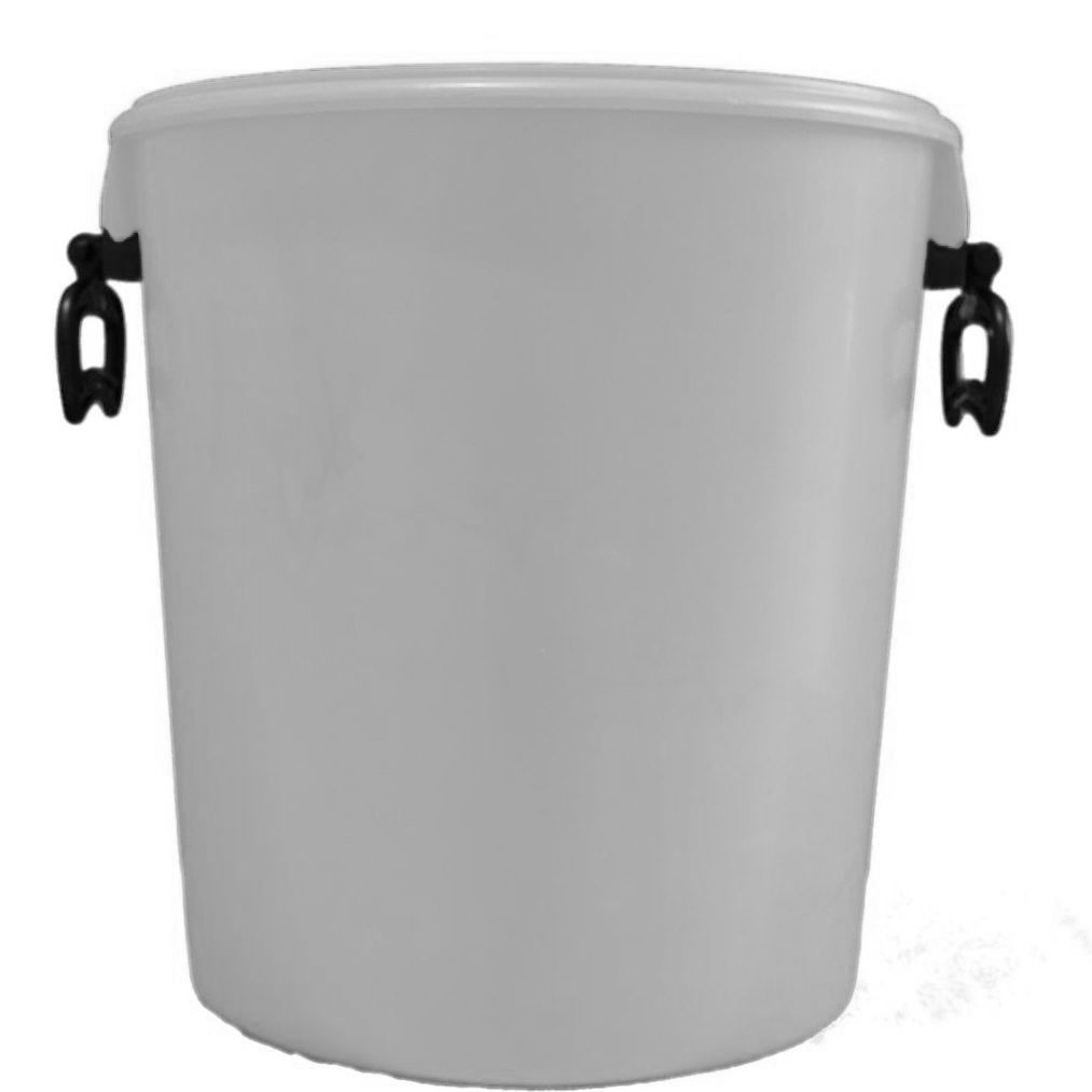 Easy to Carry 25L Double Handle Plastic Container 3c0d451a416