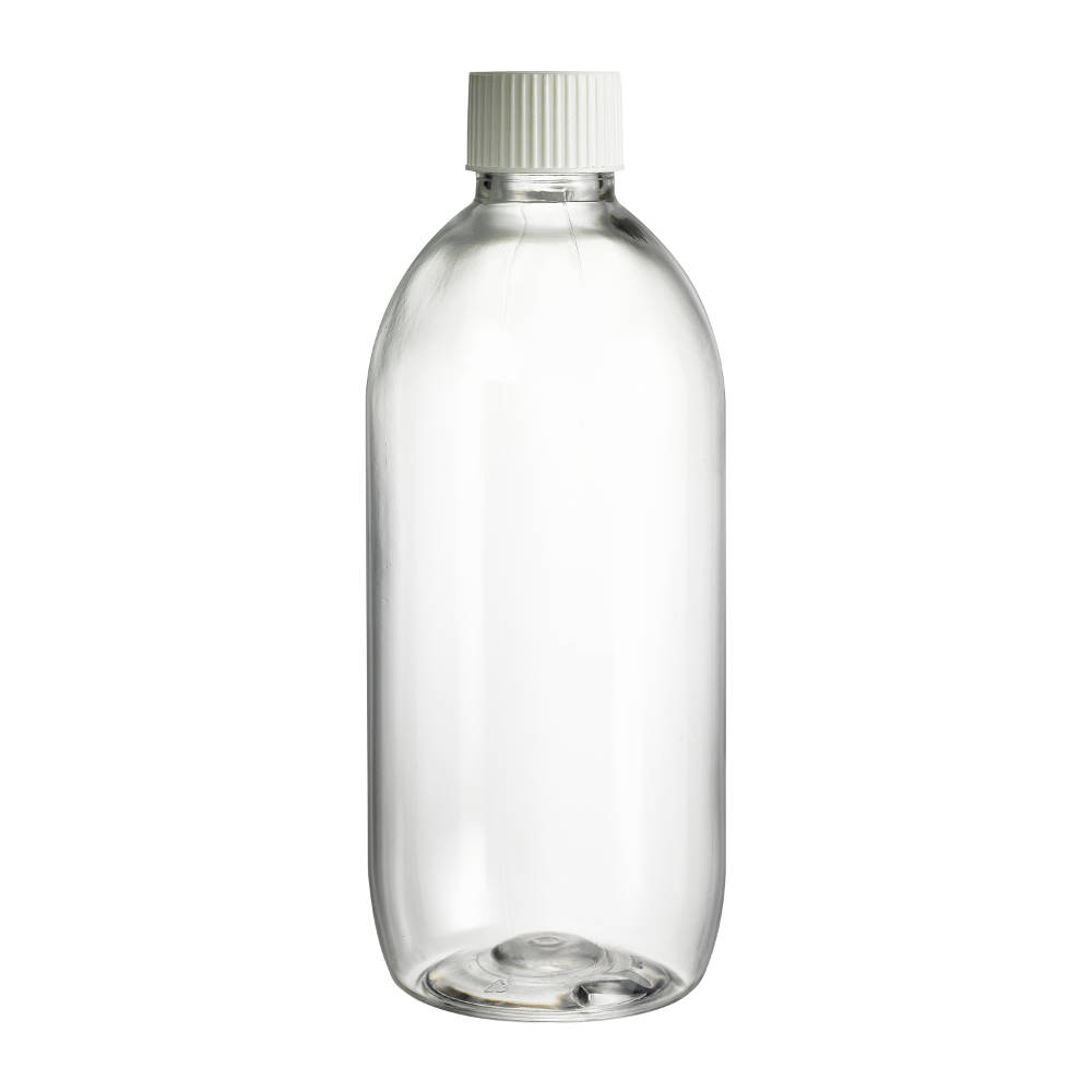 500ml Clear Plastic PET Bottle
