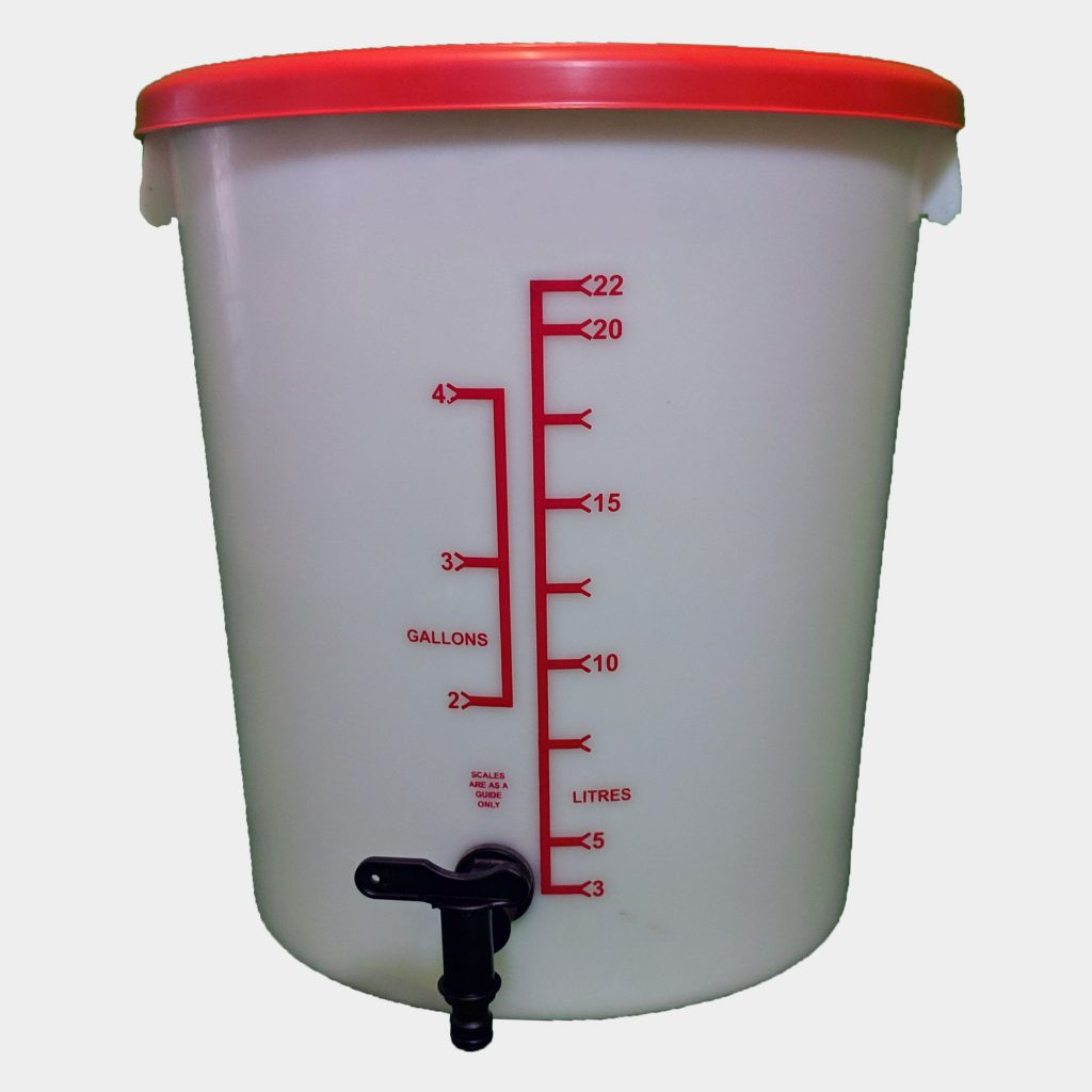 25L Homebrew Buckets with Tap And Lid