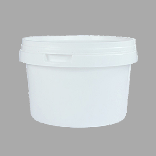500ml White Plastic Food Grade Container with Lid