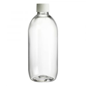 150ml clear plastic Boston bottles