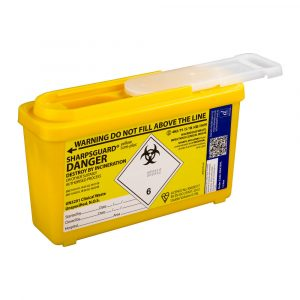 1 litre sharps container